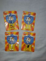 ERTL Looney Tunes Die Cast Metal Figures dated 1989 x4 new and still sealed