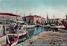Cartolina - Postcard - Cesenatico - Porto Canale - Pescherecci - 1956