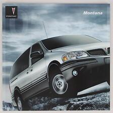 Pontiac 2005 Montana Sales Brochure / Literature