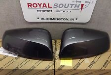 Toyota Tacoma 16-17 Magnetic Gray 1G3 Outer Mirror Covers Set W/ TS Genuine OEM