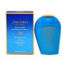 SHISEIDO EXTRA SMOOTH SUN PROTECTION LOTION SPF38 FACE/BODY 100ML NIB-SH14434