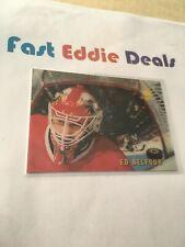 PINNACLE MCDONALDS HOCKEY 1996 ED BELFOUR 3D GOALIE CARD CHICAGO BLACKHAWKS