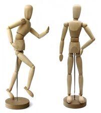 Zeichenpuppe Gliederpuppe Modellpuppe Marionette Puppe 50cm