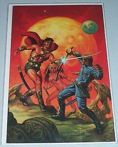 Warriors Of Mars #1! (2012) 1:25 Joe Jusko Virgin Variant! NM!