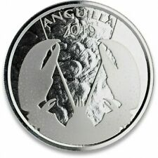 ANGUILLA 2 Dollars Argent 1 Once Homard 2019