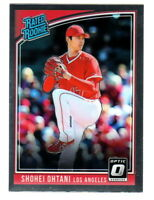 2018 Optic RATED ROOKIE #176 SHOHEI OHTANI RC Rookie Angels PITCHING