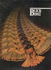 Buick Skylark Century Regal LeSabre Electra Riviera 1982 USA Market Brochure