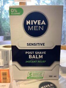 Nivea Men Sensitive Post Shave Balm 100ml. New