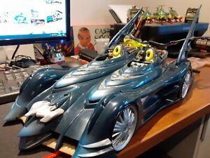 "Batmobile Vehicle 20"" Mattel 2003 2 In 1 Detachable Robin Cycle"