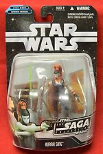 Hasbro Star Wars Saga #70 Aurra Sing 3 3/4 inch New sealed Carded Figure