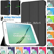Magnetic Leather Smart Stand Case Cover For Samsung Galaxy Tab S2 8 SM-T710 T715
