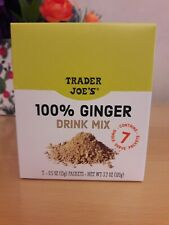 100% Organic TRADER JOE'S Ginger Drink Mix (7 Servings bags)