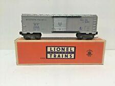 LIONEL O SCALE POSTWAR W.PACIFIC 6464-1 BOXCAR W/ORIG.BOX