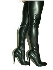 "PROMOTIONS LATEX RUBBER HIGHS BOOTS  SIZE 5-16 HEELS-5,5""- PRODUCE POLAND"