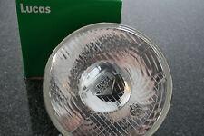 """Lucas 7 """" Bilux Scheinwerfer Einsatz mit Standl. + E.Zlg.  BSA Norton Triumph"""