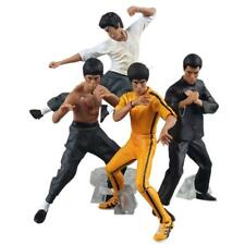 HOT 4 Pcs Set Bruce Lee Kung Fu Collection PVC Action Figure Series Toys Gift UK