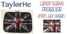 Laptop Tablet Mobile Gadget Sleeve Foam Protector New TaylorHE Union Jack Design