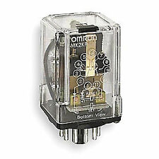 OMRON Latching Relay,11 Pin,Octal,24VAC, MK2KPAC24