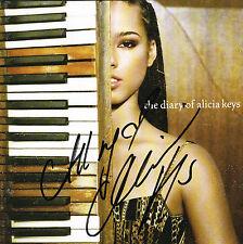 Alicia Keys SIGNED The Diary of Alicia Keys CD RARE COA