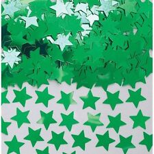 Green Star Shape Table Confetti Sprinkles Green Party Table Decorations