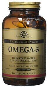 Solgar. Omega-3 Triple Résistance Gélule (100) Bbe 06/2023