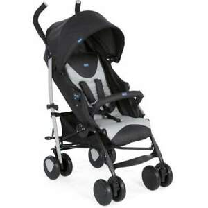 Chicco Echo Pushchair - Stone, rain cover, adjustable back rest, NEW with tags