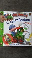 coffret le train de Bastien ,p'tit garçon Fleurus, livre, coloriage ,poster ,etc