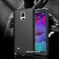 Luxury Ultra-thin Matte Soft Bumper Rubber Case Cover For Samsung Galaxy NOTE 4