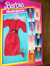 #4815 MODA JOVEN ESTILO  BARBIE  FASHION  foreign imported from Spain (c)1985