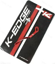 K-Edge Road Bicycle Chain Catcher Alloy Red Frame protector 10g Lightweight
