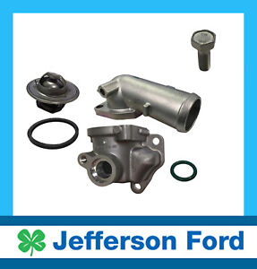 GENUINE FORD FALCON FG & TERRITORY SZ TOP THERMOSTAT COMPLETE ASSEMBLY
