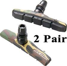 2 Pair Acor Camo Camouflage V-Brake Blocks Pads V Brake Brakes V-Brakes