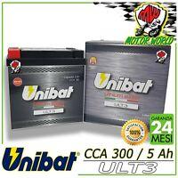 ULT3 Batterie UNIBAT Lithium Extra YTX14-BS Husqvarna Te 630 2010 2013