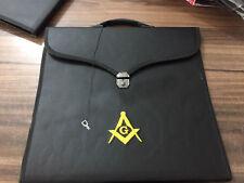 Master Mason Apron Cases ,Masonic Apron & Chain Collar Case Black Case