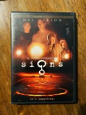 Signs Dvd Scary Halloween Horror Sci Fi Movie
