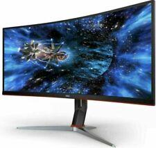 "AOC CU34G2X 34"" QHD 144Hz UltraWide Curved LED Gaming Monitor - Black"
