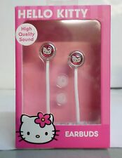 SANRIO HELLO KITTY EARBUDS COMPATIBLE WITH ALL IPHONE IPADS,TABLETS  MP3 PLAYERS