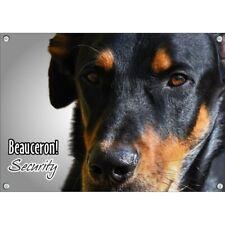 Hundeschild - Beauceron - hochwertiges Metallschild vom Berger de Beauce