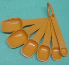 Tupperware Measuring Spoon set - orange