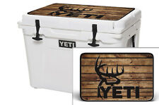24mil Wrap for Yeti 45qt Cooler Graphic LID KIT Sticker Buck Wood Crosshair Hunt