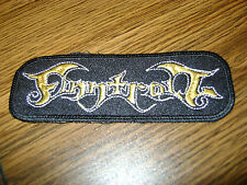 FINNTROLL,SEW ON GOLDEN EMBROIDERED PATCH