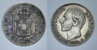 50 CENT. 1881 ALFONSO XII SPAGNA