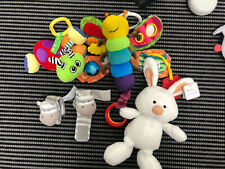 Lamaze, Nuby And Soft Toy Bundle With Wrist Rattles