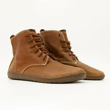 NEW Vivobarefoot Scott II - Mens Brown Lined Leather Barefoot Shoes Combat Boots