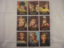 Legends of Star Trek Chekov, Yeoman Rand & Nurse Chapel L1-L9 0798/1701