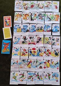 ancien JEU DES 7 FAMILLES - PUZZLE  Les fables de La FONTAINE