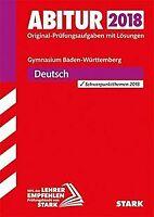 Abiturprüfung Baden-Württemberg - Deutsch | Buch | Zustand gut