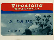Credit First Nat'l Firestone Auto Care Retail Store Credit Card from the 2000s