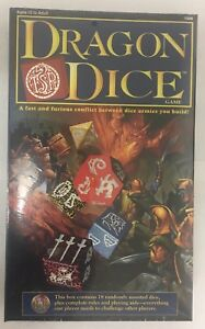 Dragon Dice Starter Set 1995 Box New Factory Sealed Rare Vintage Dungeons