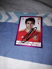 Panini Sticker signiert EM 2012 signiert Javi Martinez Spanien NEU